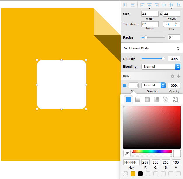 Designing Google Icons in Sketch 3