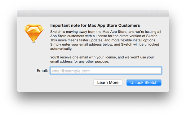 Important note for Mac App Store Customers