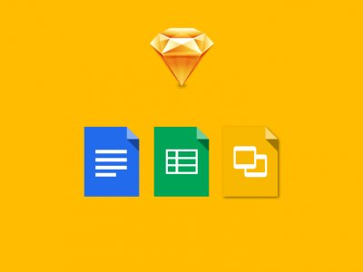 Designing Google Icons in Sketch