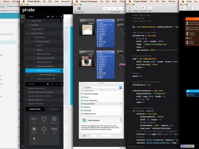 Eight Prototyping Tools Compared: Proto.io, Pixate, Framer, Origami, Form, Principle, Flinto for Mac, and Hype