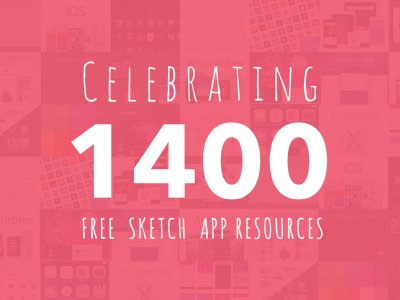 Celebrating Over 1400 Sketch App Resource