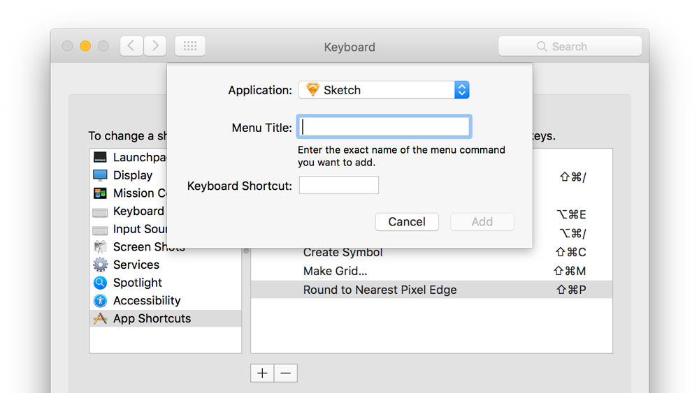 All Keyboard Shortcuts And Commands For Sketch