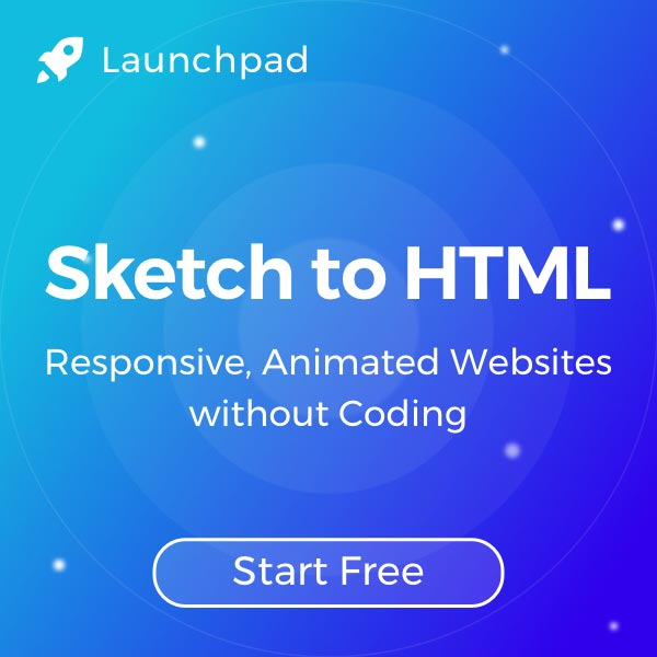 Launchpad - Sketch to HTML