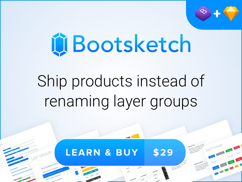 Ultimate Sketch Template for Bootstrap