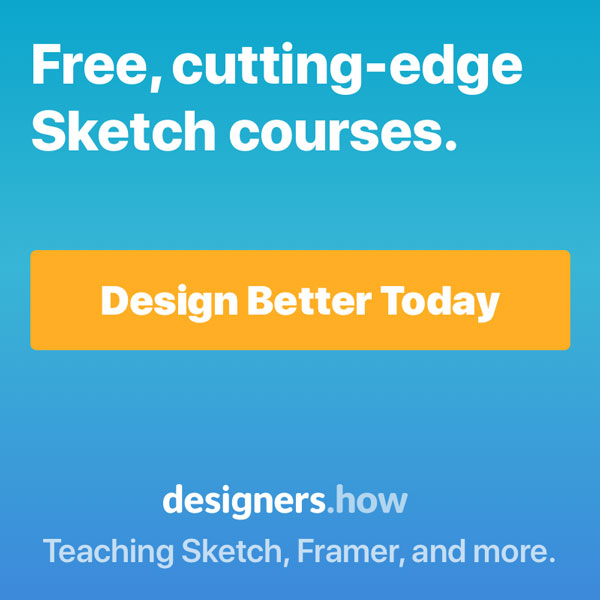 Designers.how Sketch Course