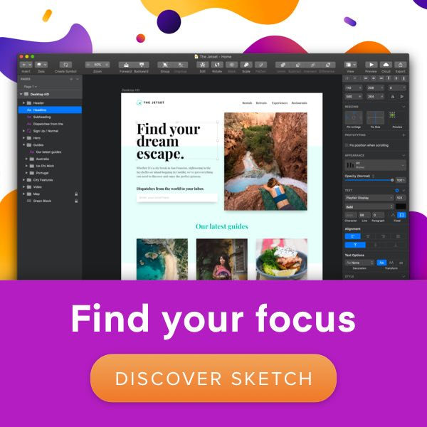 Discover Sketch 52 - Find your Focus