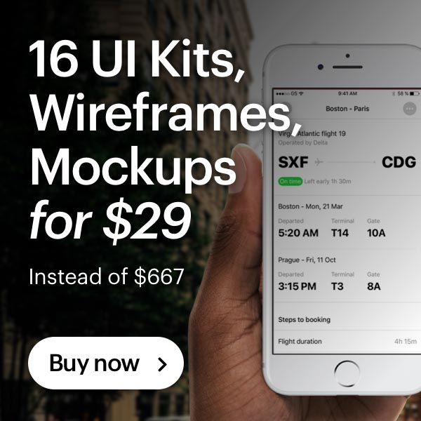 16 Awesome UI Kits