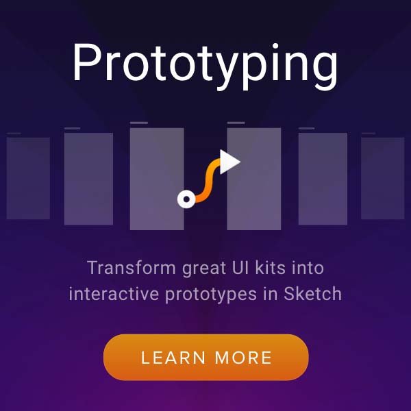 Sketch Prototyping UI Kits