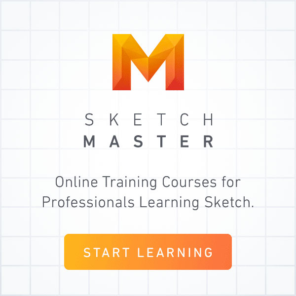 Training courses for professionals learning Sketch