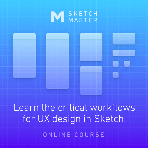 Sketch Master UX Course