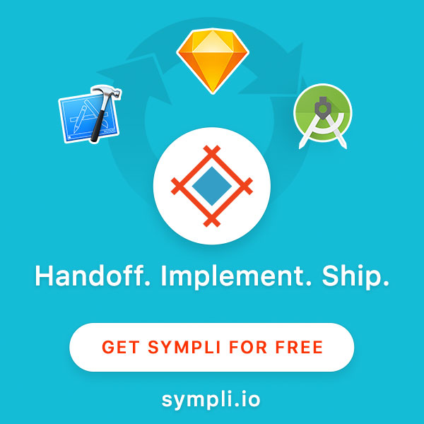 Sympli - Collaboration tool that works with Xcode, Android Studio, Sketch