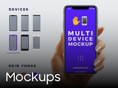 all resources for mockup