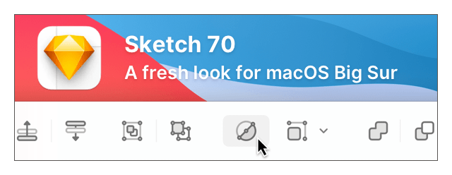 Sketch 70: A fresh look for macOS Big Su