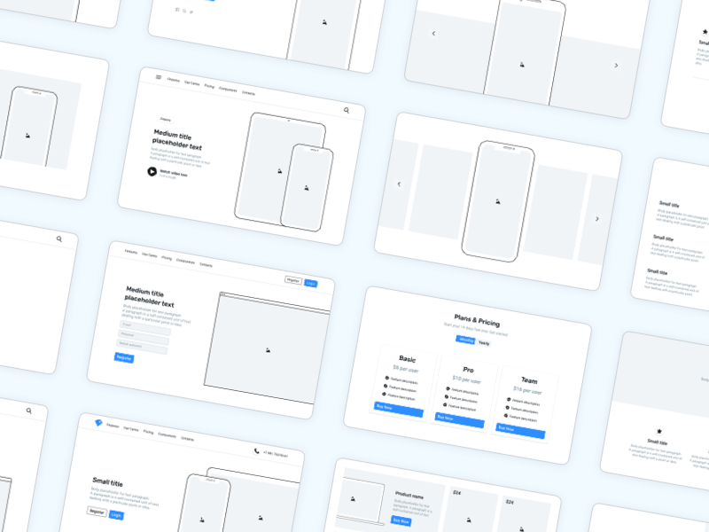 Frames — Design Kit for Responsive Websites