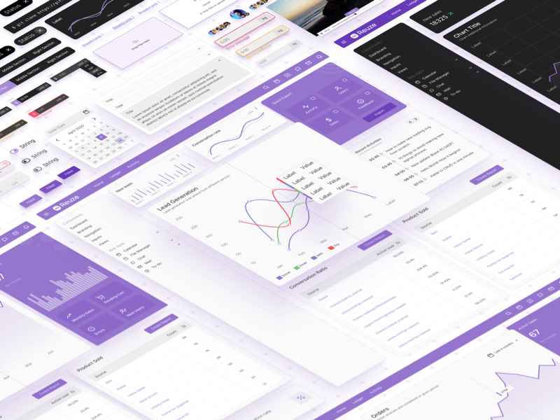 Dashboards & Web Apps UI Kit