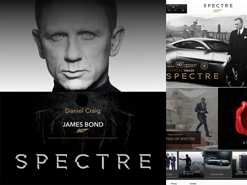 James Bond 007 Website