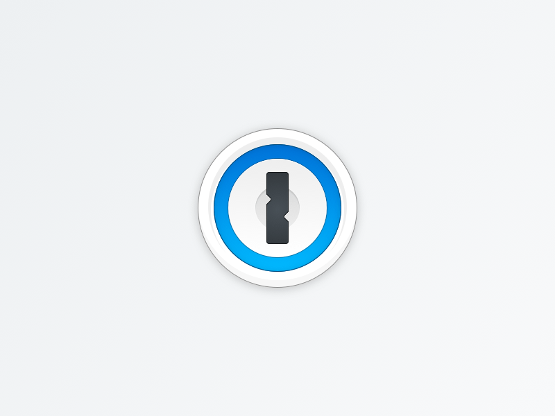 1Password Vector Icon