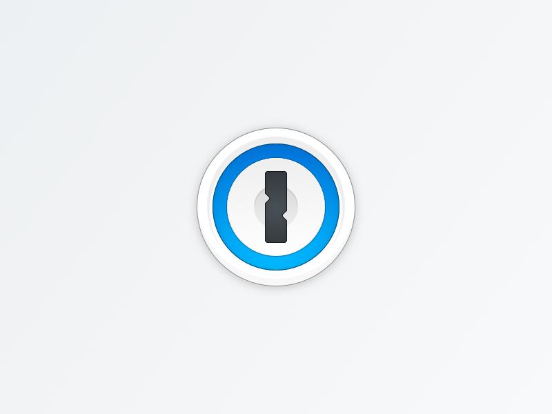 1Password Vector Icon