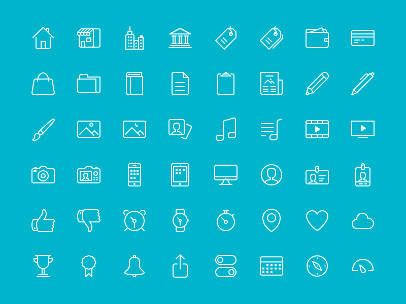 48 Bubbles Iconset