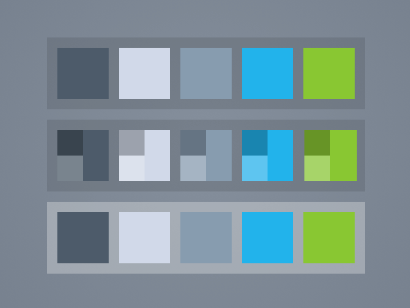 color palette template sketch freebie