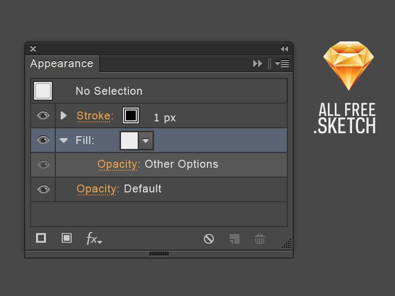 Sketch App Illustrator UI