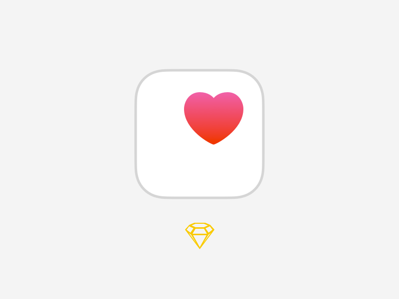 Apple Health Kit Icon