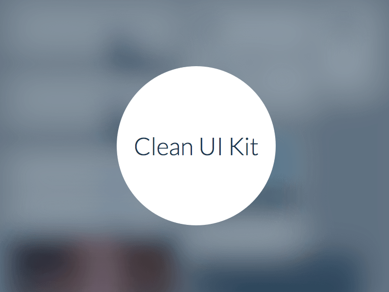 Clean UI Kit Demo