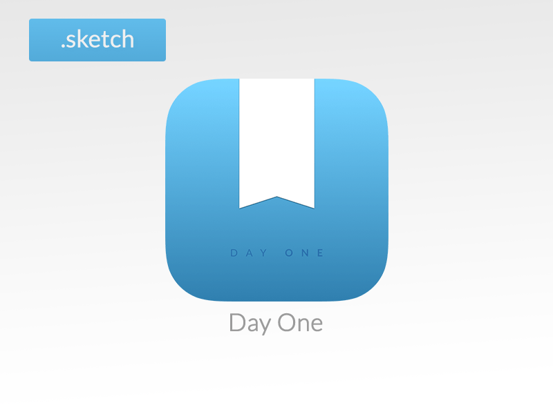 Day One iOS icon