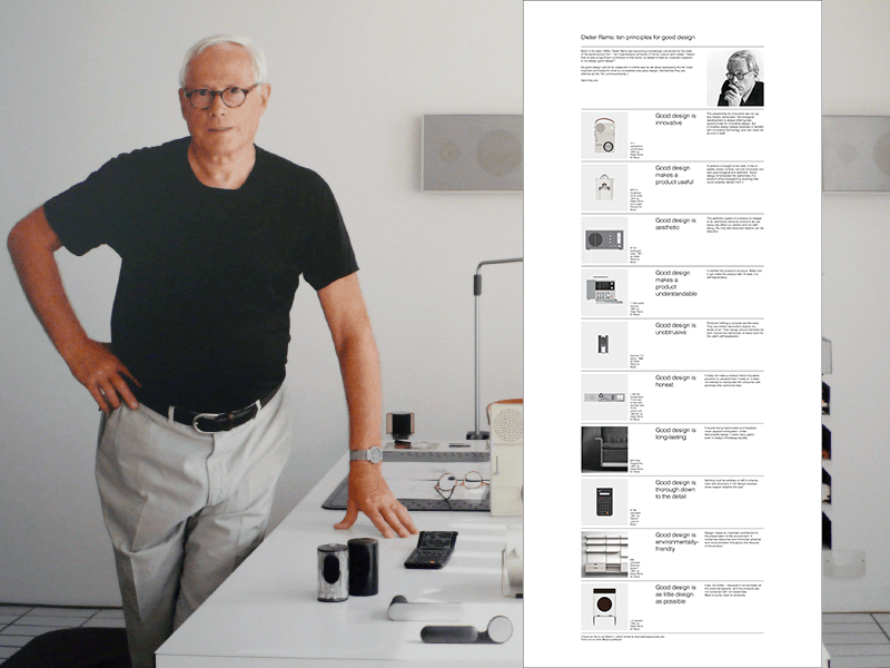 dieter rams poster ten principles for good design sketch freebie download free resource for. Black Bedroom Furniture Sets. Home Design Ideas