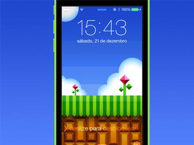 Emerald Hill, lockscreen wallpaper Sketch freebie - Download