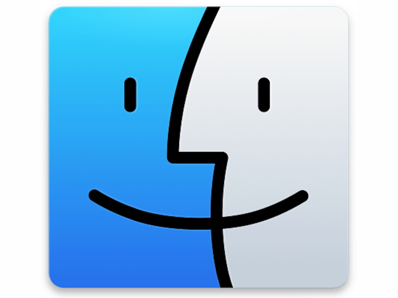 OS X Finder Replacement Icon