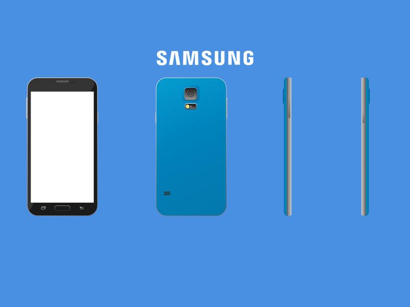 Samsung Galaxy S5 Sketch Freebie Download Free Resource For Sketch