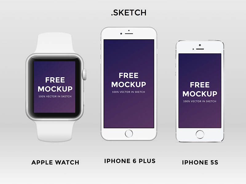 Apple Watch iPhone 6 iPhone 5