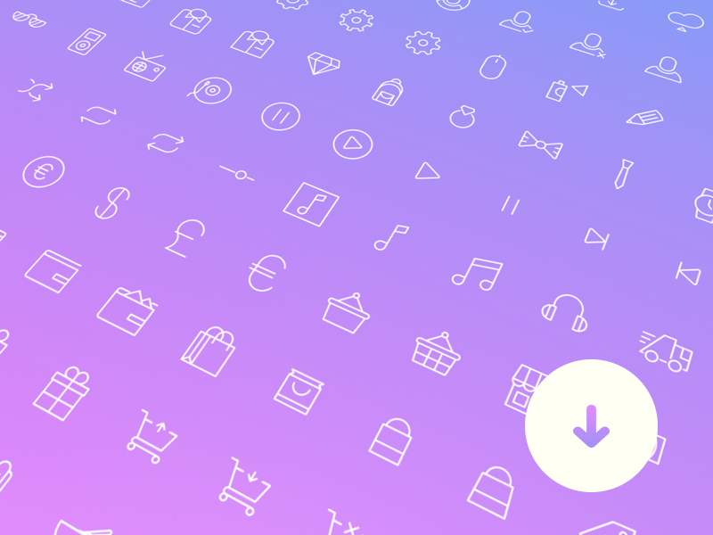 100+ Simple Line Icons Sketch freebie - Download free resource for ...