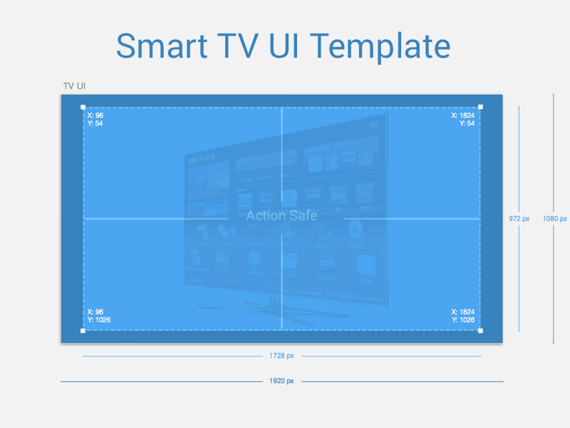 Smart TV UI Template