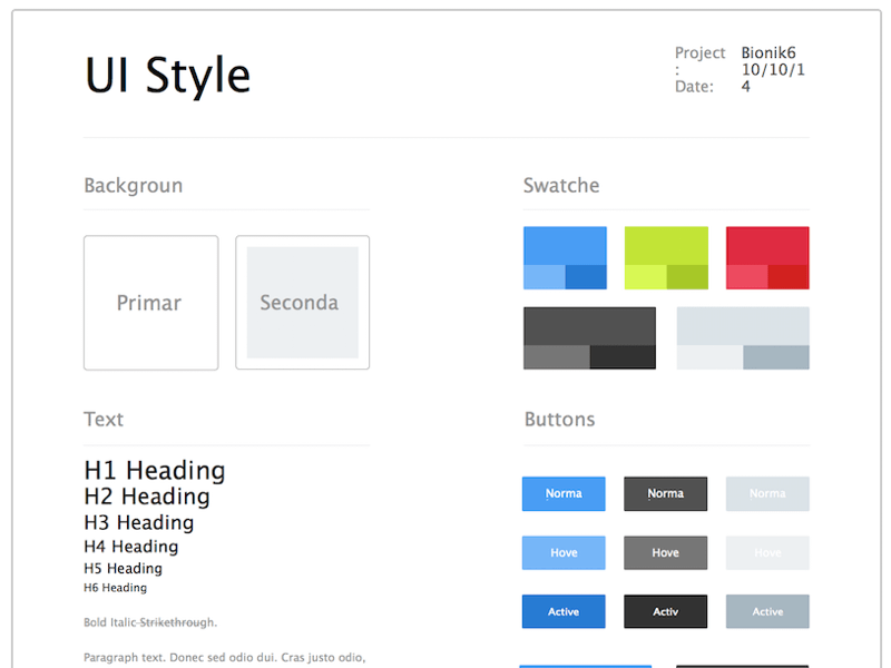 ui style guide sketch freebie download free resource for sketch rh sketchappsources com android style guide xml android style guide colors