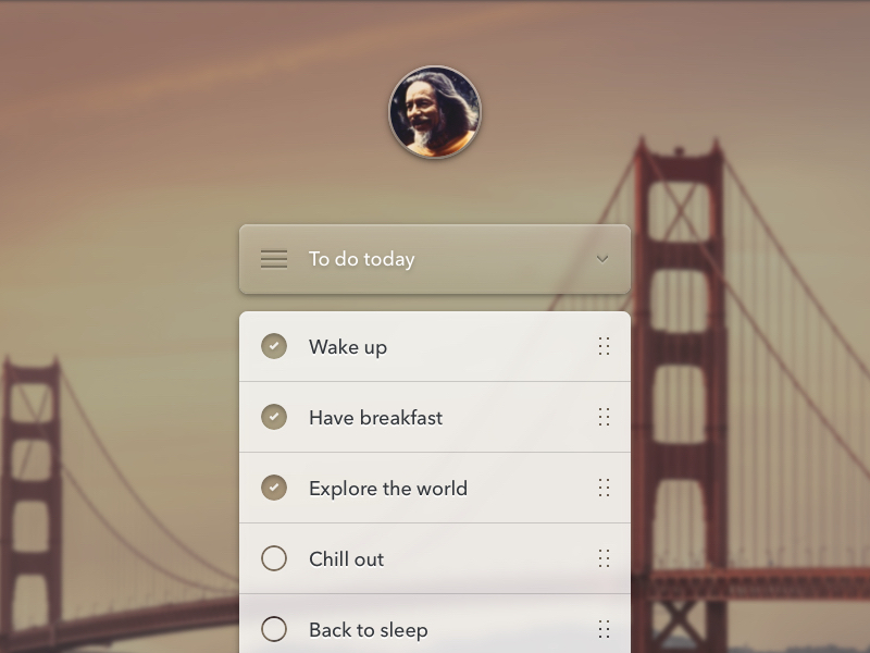 To-do Checklist App Interface