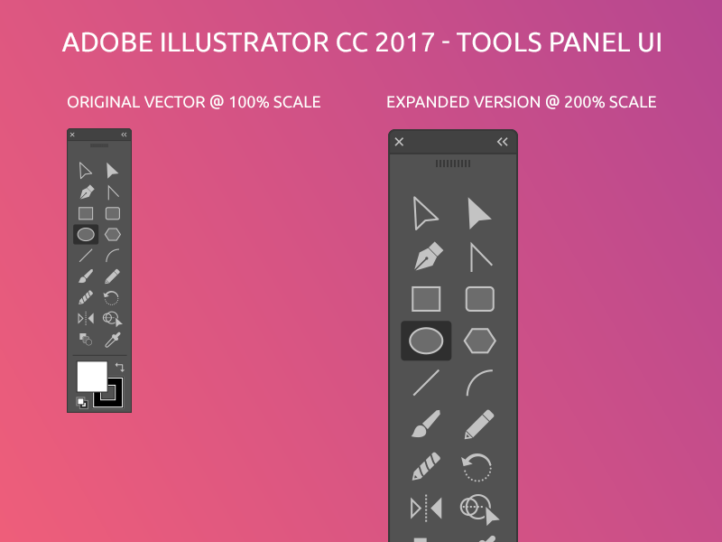 Illustrator Tools Panel