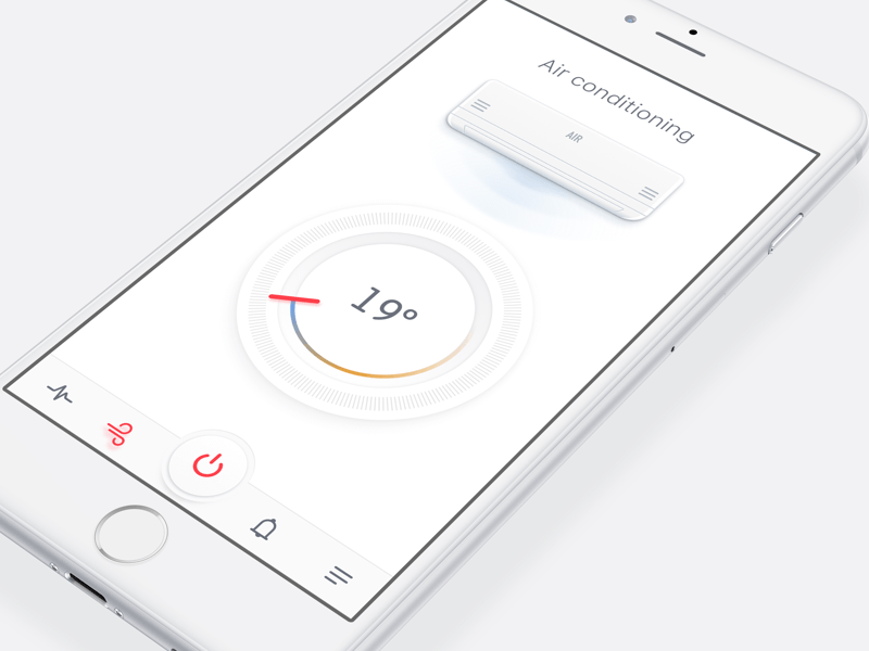 Air Conditioning App Concept