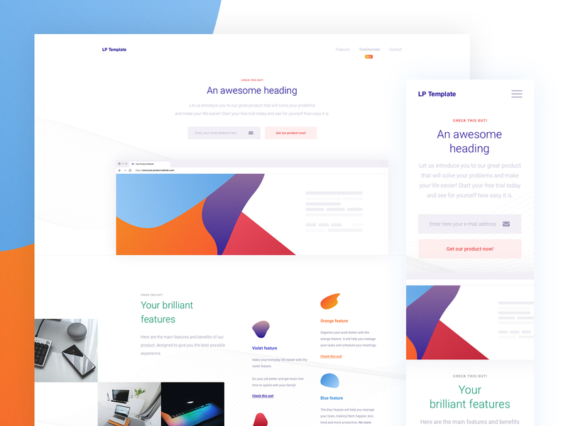 All Purpose Landing Page