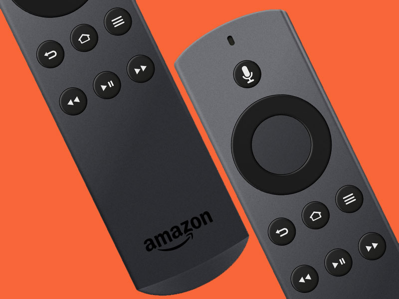 Amazon Fire TV Remote Sketch freebie - Download free
