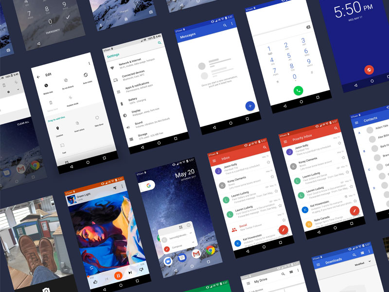 Android O UI Kit