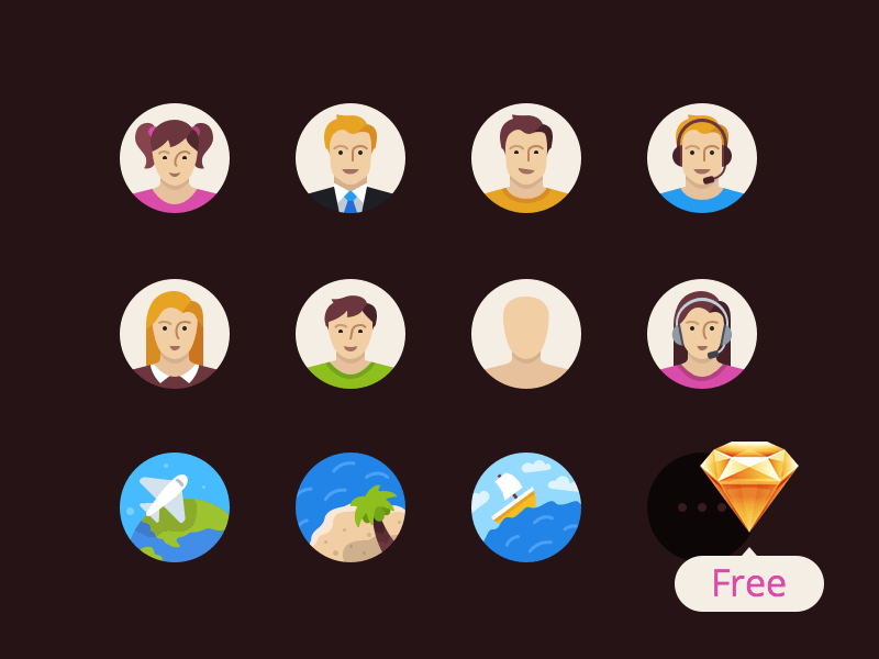 Flatflow Icons