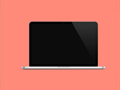 apple macbook pro retina sketch freebie download free resource for