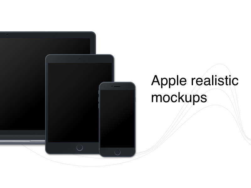 apple mockups - Mockups For Android
