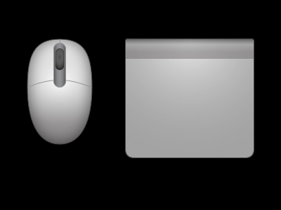 Apple Mouse and trackpad