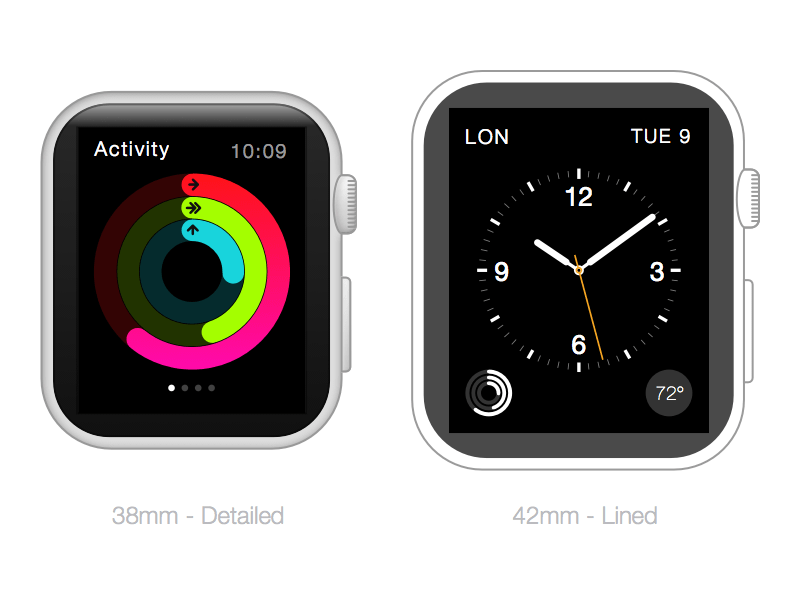 Apple Watch Frames