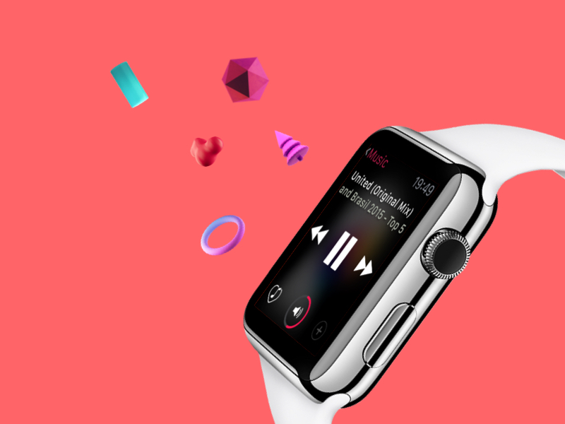 Apple WatchOS UI Kit