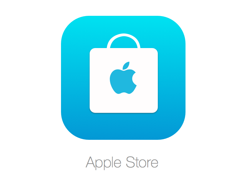 Apple Store Icon for iPhone