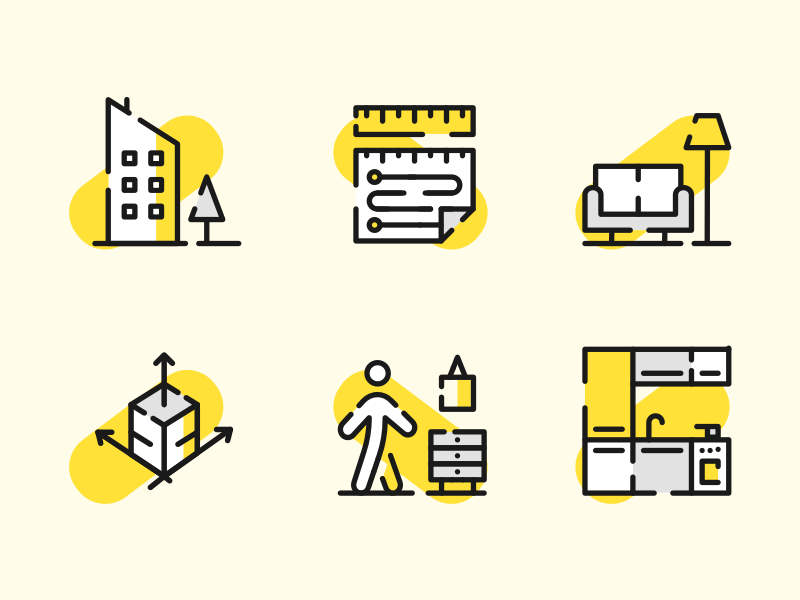 6 Architecture Icons